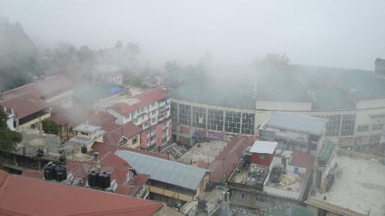 Travellers' Inn : City from terrace