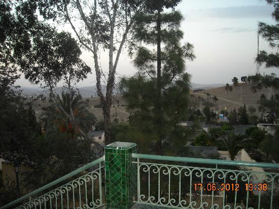 مولاي يعقوب, المغرب: vue de l'exterieur 