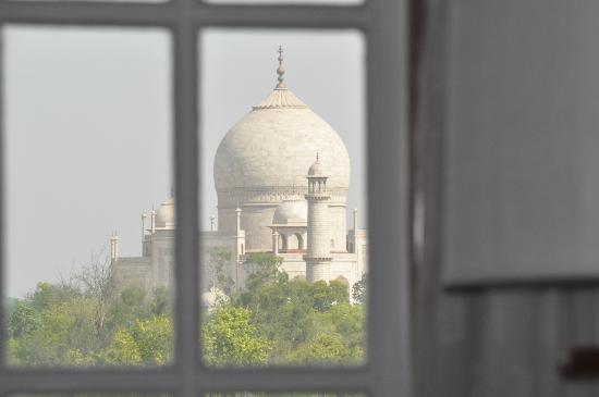 The Oberoi Amarvilas: Taj Mahal vu depuis la chambre