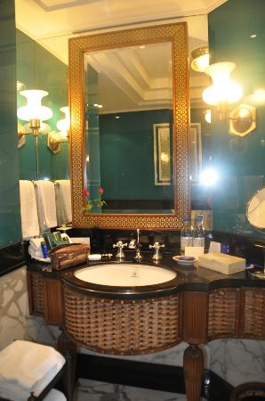 The Oberoi Amarvilas: lavabo