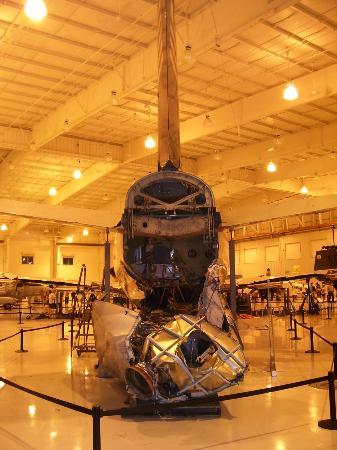 Carolinas Aviation Museum: Back of the Hudson plane