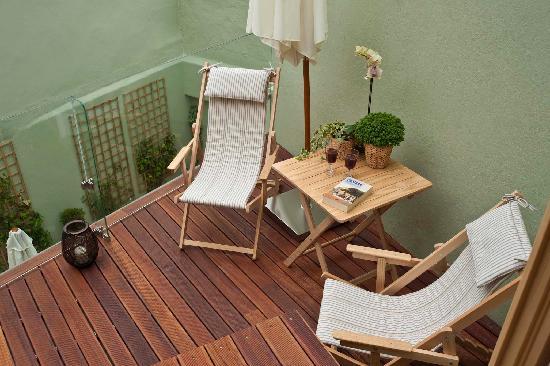 Casa Amora Guesthouse: Private Terrace Suite Duplex Amadeo