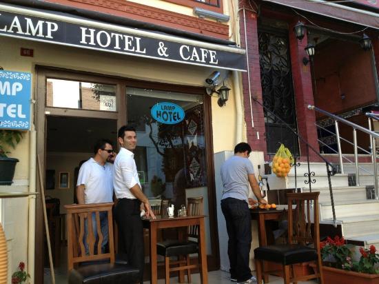 Lamp Hotel: hotel & staff