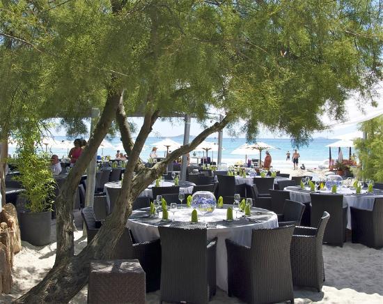 Restaurant Playa Baggia : La vue