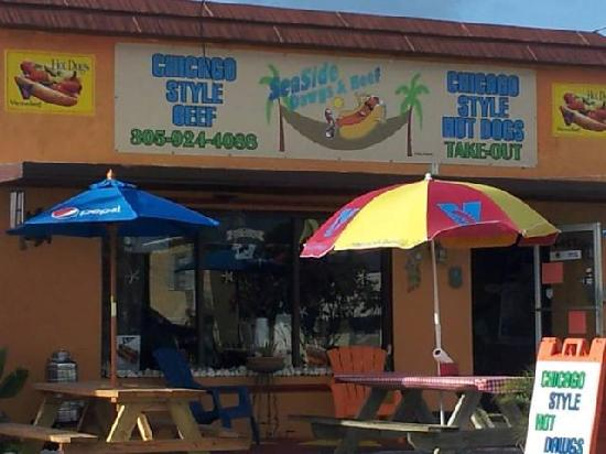 Seaside Dawgs & Beef: Our building at 2264 Overseas Highway, Marathon, Florida