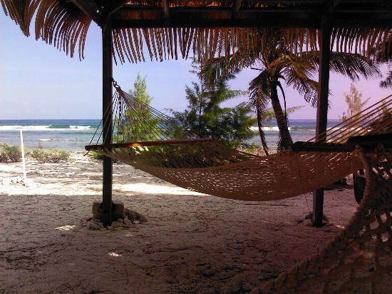 Pirates Point Resort: One of the two hammock shelters