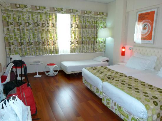 Hotel Florida: Quarto