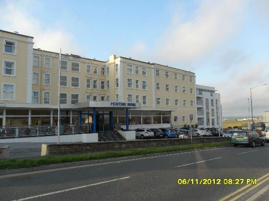 The front of The Pentire Hotel.