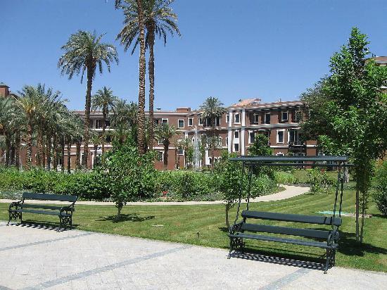 Sofitel Legend Old Cataract Aswan: Garten
