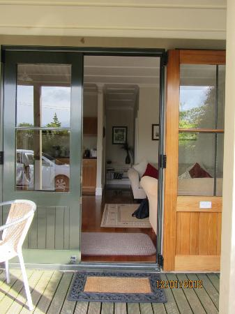 Pinot Villas : From the verandah