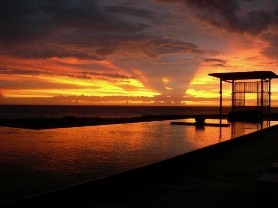Amanyara: sunset