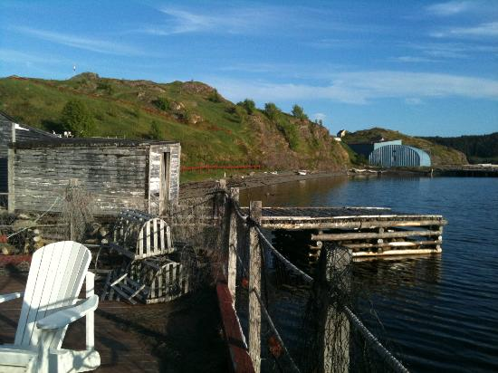 One of many views from the Twine Loft wharf