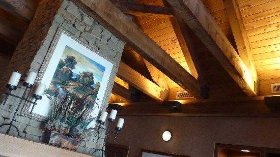 Econo Lodge Riverside : Ambiance salon