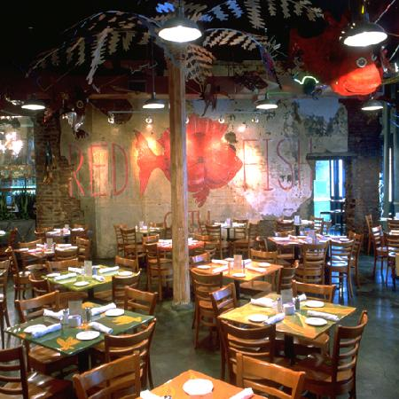 Red fish grill new orleans central business district for Red fish grill
