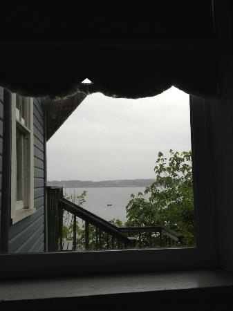Cottage on the Cove: View from the bed