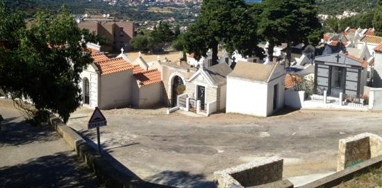 Casa San Ghjase : la vue avant de voir la mer. Sympathique !!! lol