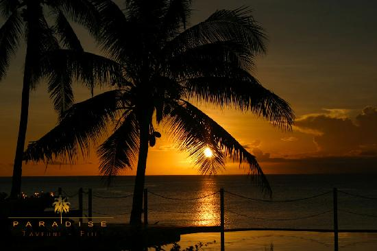 Paradise Taveuni: Beautiful Sunsets