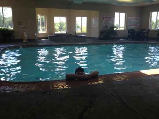 Best Western Nebraska City Inn : pool area