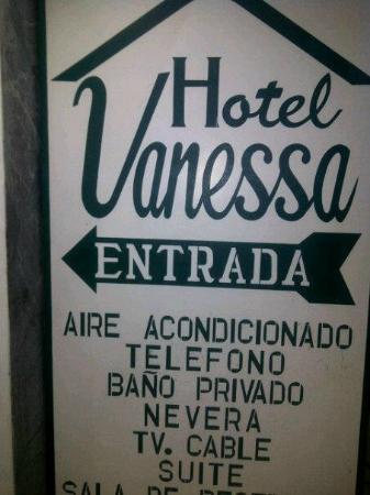 Hotel Vanessa: ENTRADA DEL HOTEL