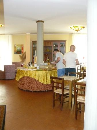 Hotel Baccio da Montelupo : sala colazione