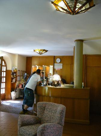 Hotel Baccio da Montelupo : reception