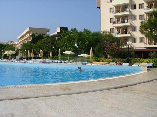 Otium Eco Club Side: Вид на бассейн