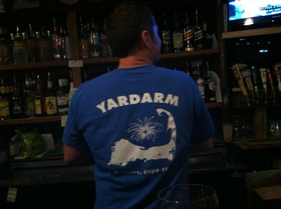 The Yardarm Resturant : great bartender and service