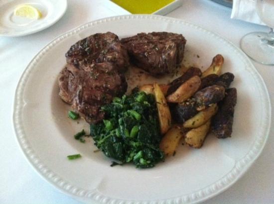Aldo's Restaurant: wood grilled lamb