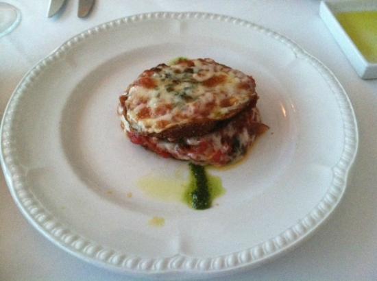 Aldo's Restaurant: eggplant parm