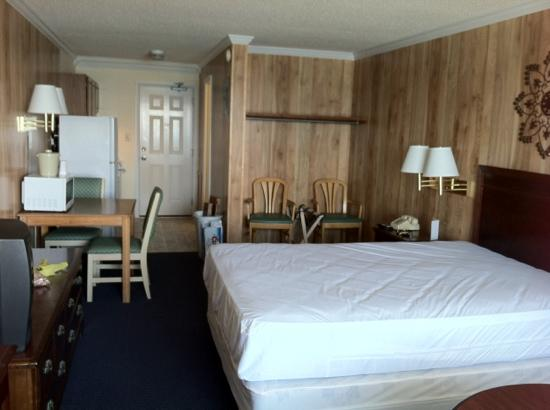 Jamaica Motel: one bed room
