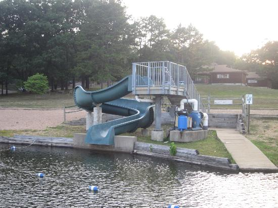 YMCA Trout Lodge: Water Slide