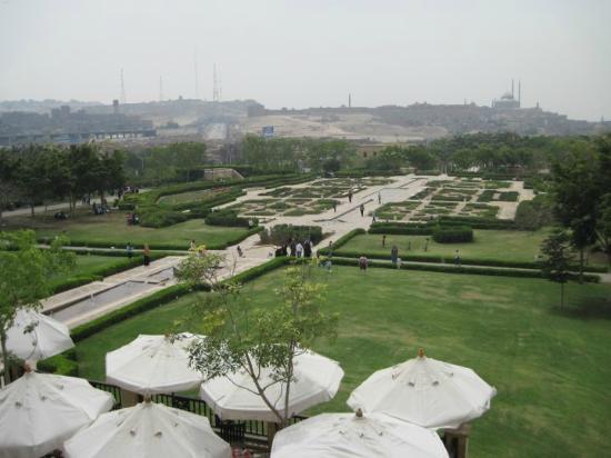 Al-Azhar Park: view from le notre