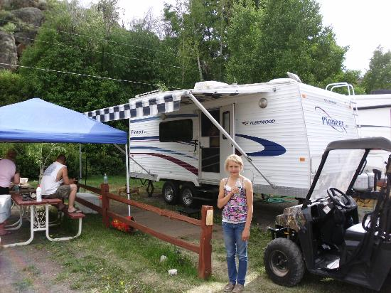 Ute Bluff Lodge, Cabins & RV Park: campgrounds