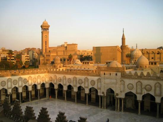 Mosque of Al-Azhar : Breathtaking view from halfway up the minaret