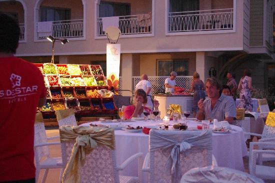 Side Star Resort: турецкая ночь