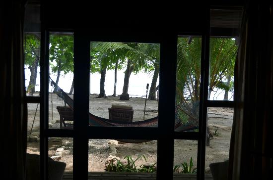 Florblanca Resort: view from surf house bedroom