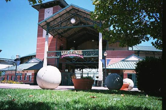 Lake Elsinore, CA: The Entrance to Diamond Stadium, Home of the Lake Esinore Storm