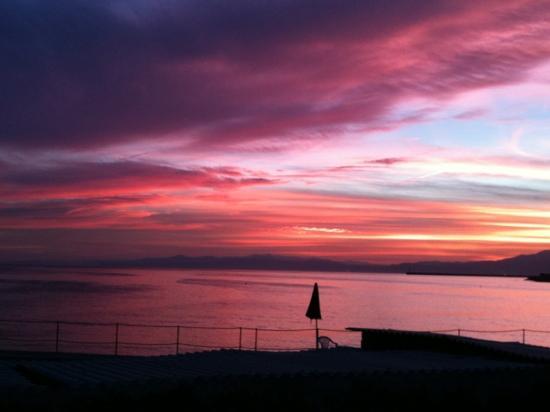 La Caravella: tramonto