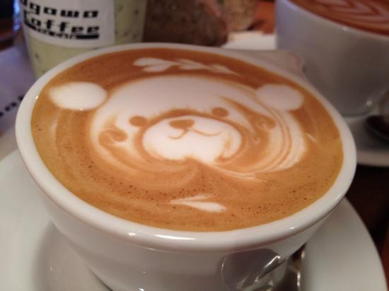 Ogawa Coffee : cappuccino