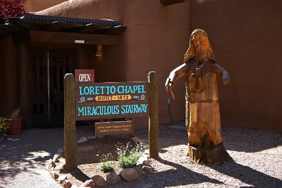 Inn and Spa at Loretto: Loretto Chapel next door to Hotel