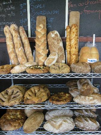 Batch Bakehouse : Our bread offerings on Saturday