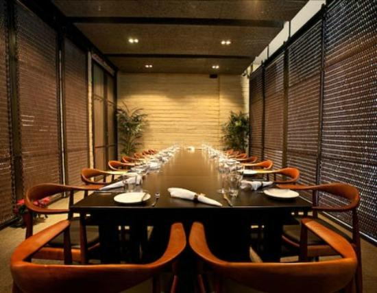 Bedrock Bar and Grill : The Private Dining Room