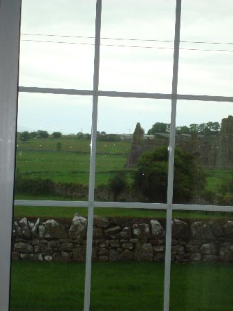 Peggy O'Neills B&B: View of Hore Abbey from our roon.