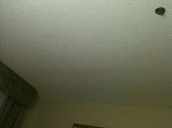 Holiday Inn Express Hotel & Suites Kinston:                                     water damage on ceiling