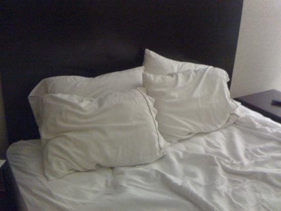 Holiday Inn Express Findlay: Are these the Simply Smart pillows?
