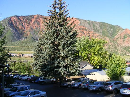 Rodeway Inn Glenwood Springs: View from the hotel