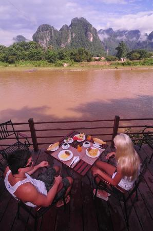 River Spirit: Table with a view