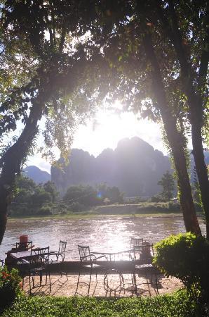 River Spirit: Magic sunset