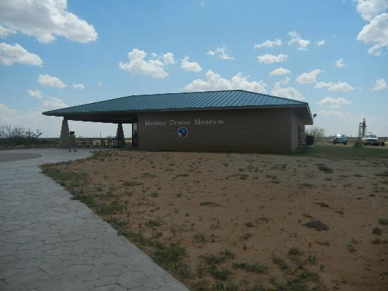 Odessa Meteor Crater and Museum: Outside