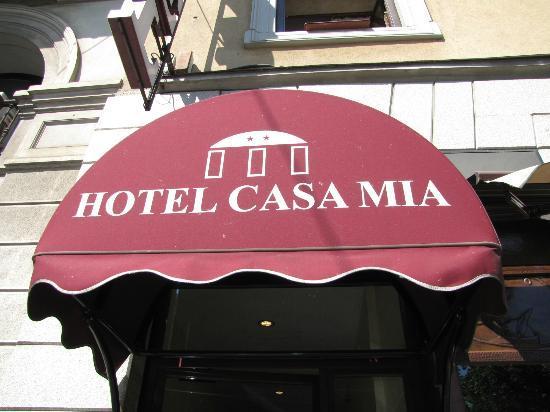Casa Mia Hotel : Hotel Entrance